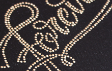 custom labels of decorative patch brand embellishment