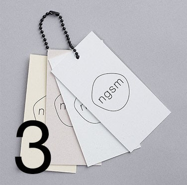 Tags made from orgainc-waste