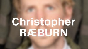 Blurred image of Chirstopher Raeburn