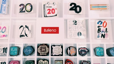 Baleno badge collection
