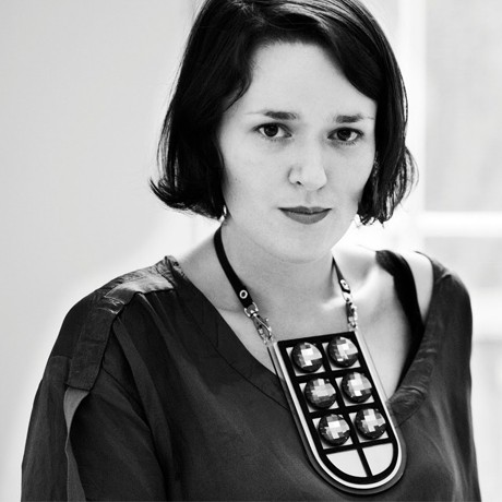 Black and White portrait of Holly Fulton