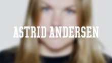 Blurred image of Astrid Andersen